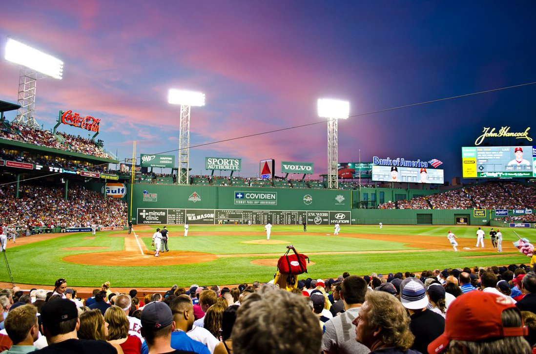 Fenway Park Sunset Fenway park sunset by andrew 1098x727