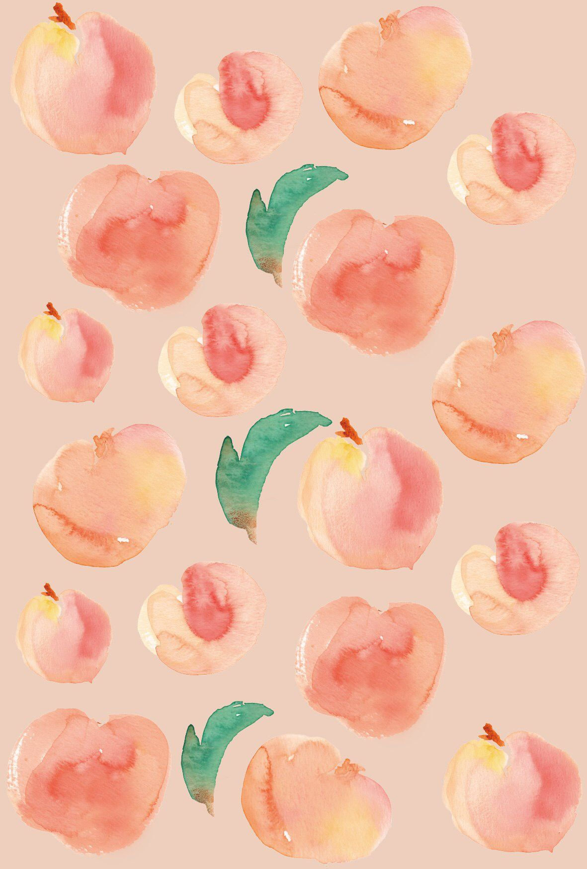 Peach Aesthetic Wallpapers   Top Peach Aesthetic Backgrounds 1181x1748
