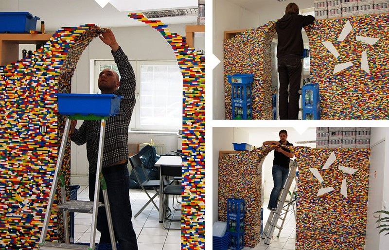 year from May 2010 to May 2011 the designers used over 55000 LEGO 800x514