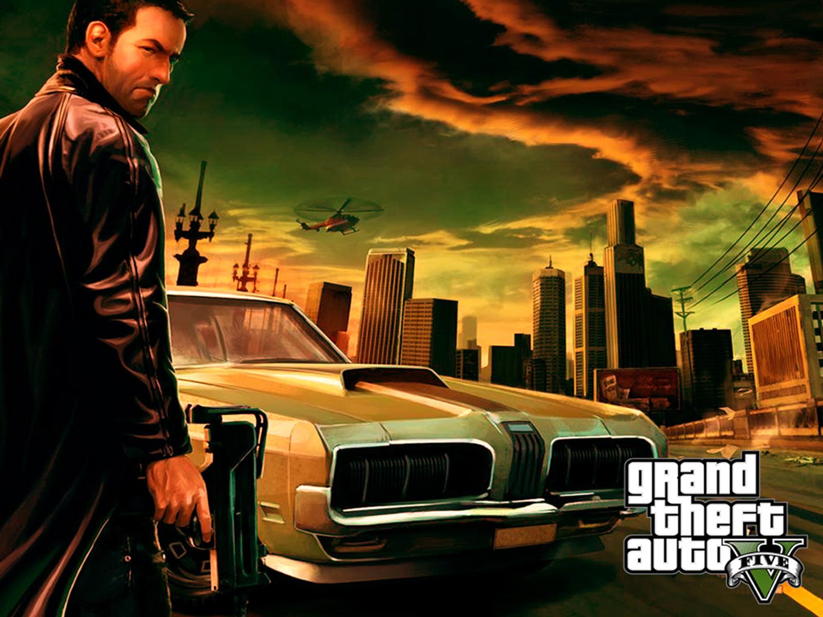 GTA 5 1080p Wallpaper