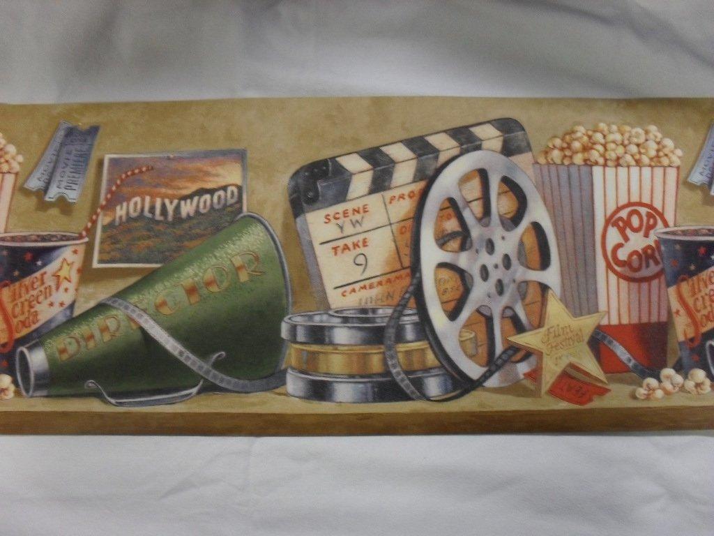 Hollywood Movie Theme Wallpaper Border 1024x768
