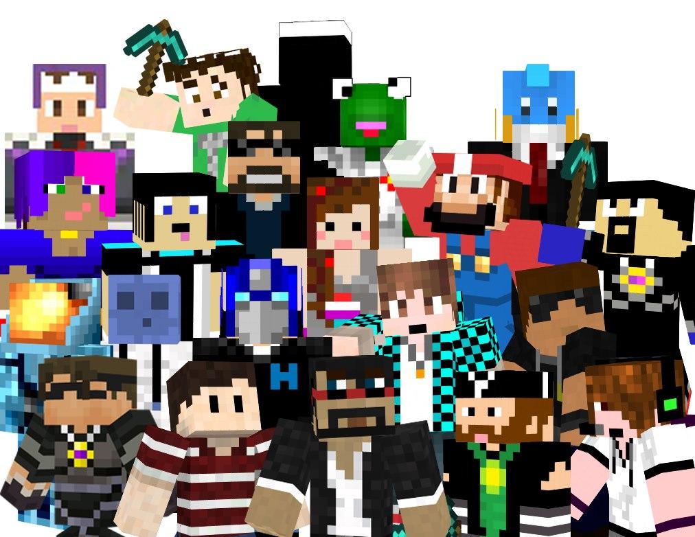 47] Minecraft Youtuber Wallpaper on WallpaperSafari 1012x782