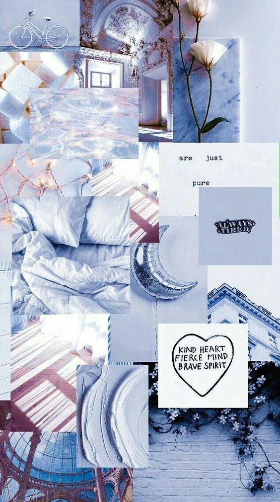 Blue Pastel Aesthetic wallpaper 564x1010