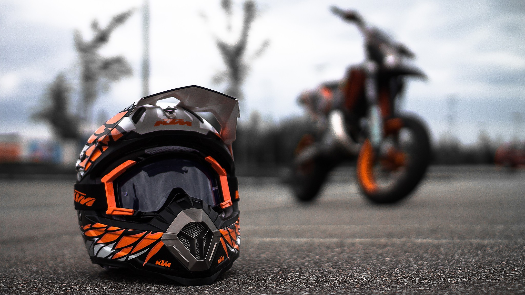 KTM Helmet Desktop Wallpaper 60564 2048x1152 px 2048x1152