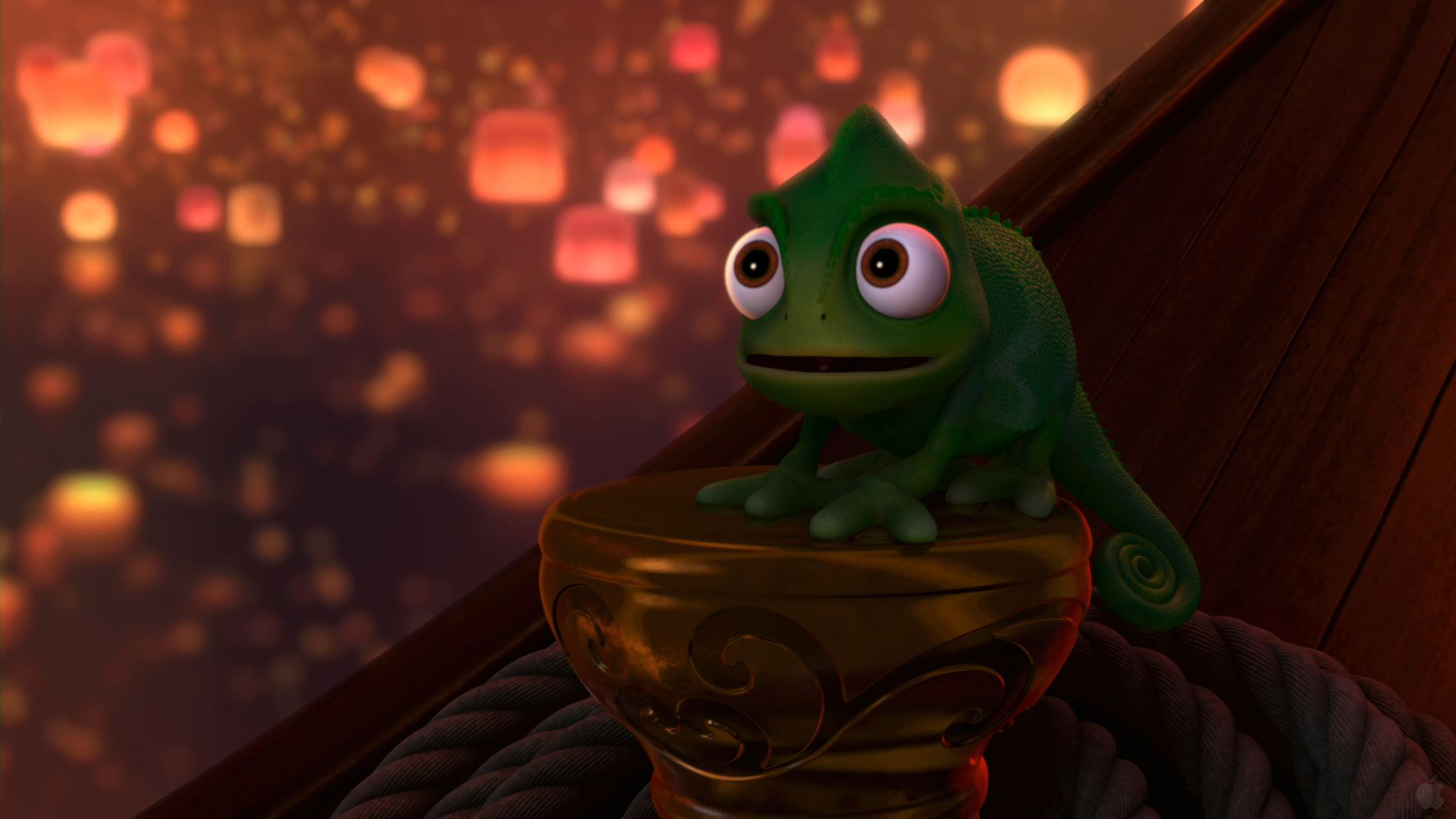 tangled pascal wallpaper desktop backgrounds disneys disney 1920x1080