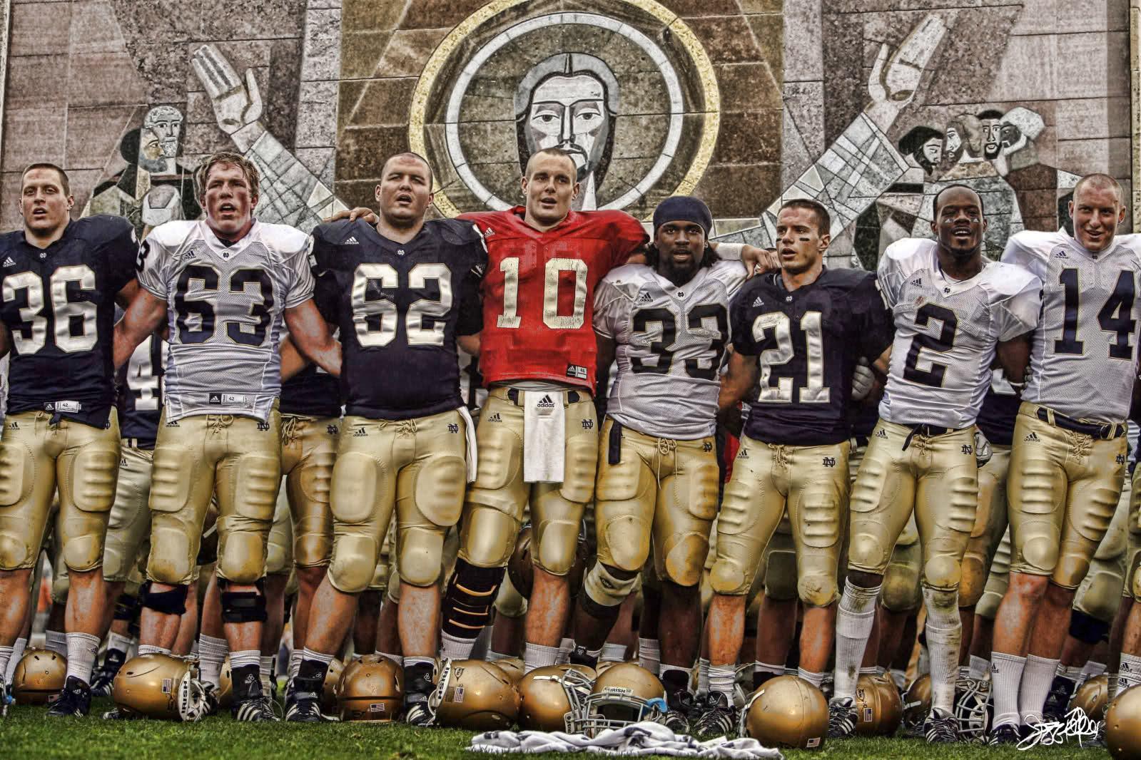 47 Notre Dame Football Hd Wallpaper On Wallpapersafari