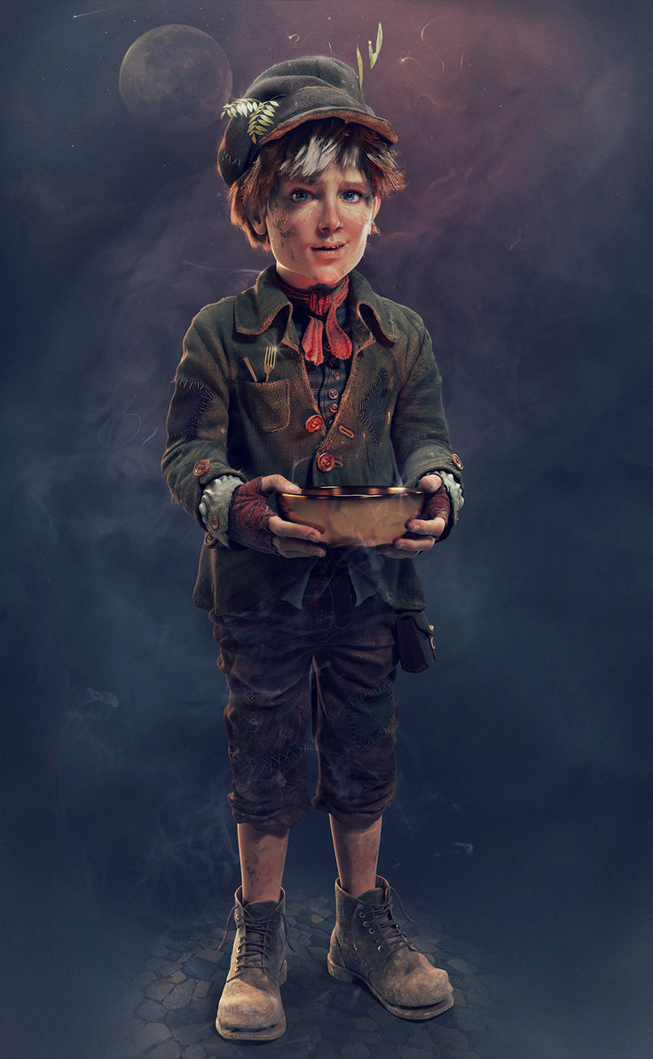 Oliver Twist by Seid Character   3dtotalcom 736x1194