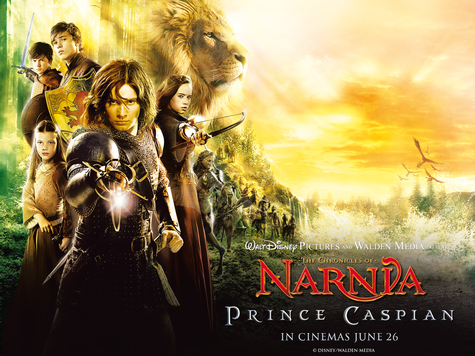 The Chronicles of Narnia Prince Caspian Wallpapers and Background 1600x1200