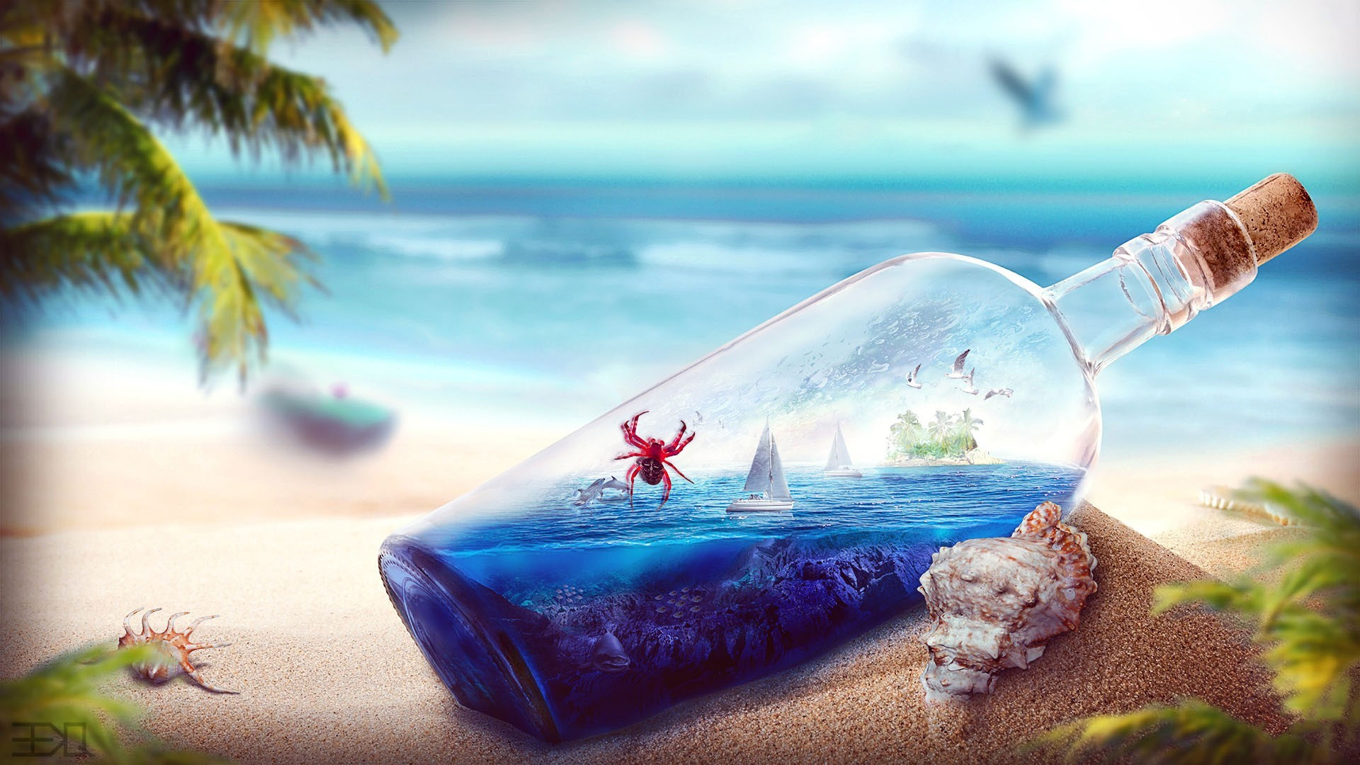 Cool Beach Backgrounds   HD Wallpapers Backgrounds of Your 1920x1080