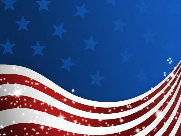 United States flag background source files Web Elements 600x450