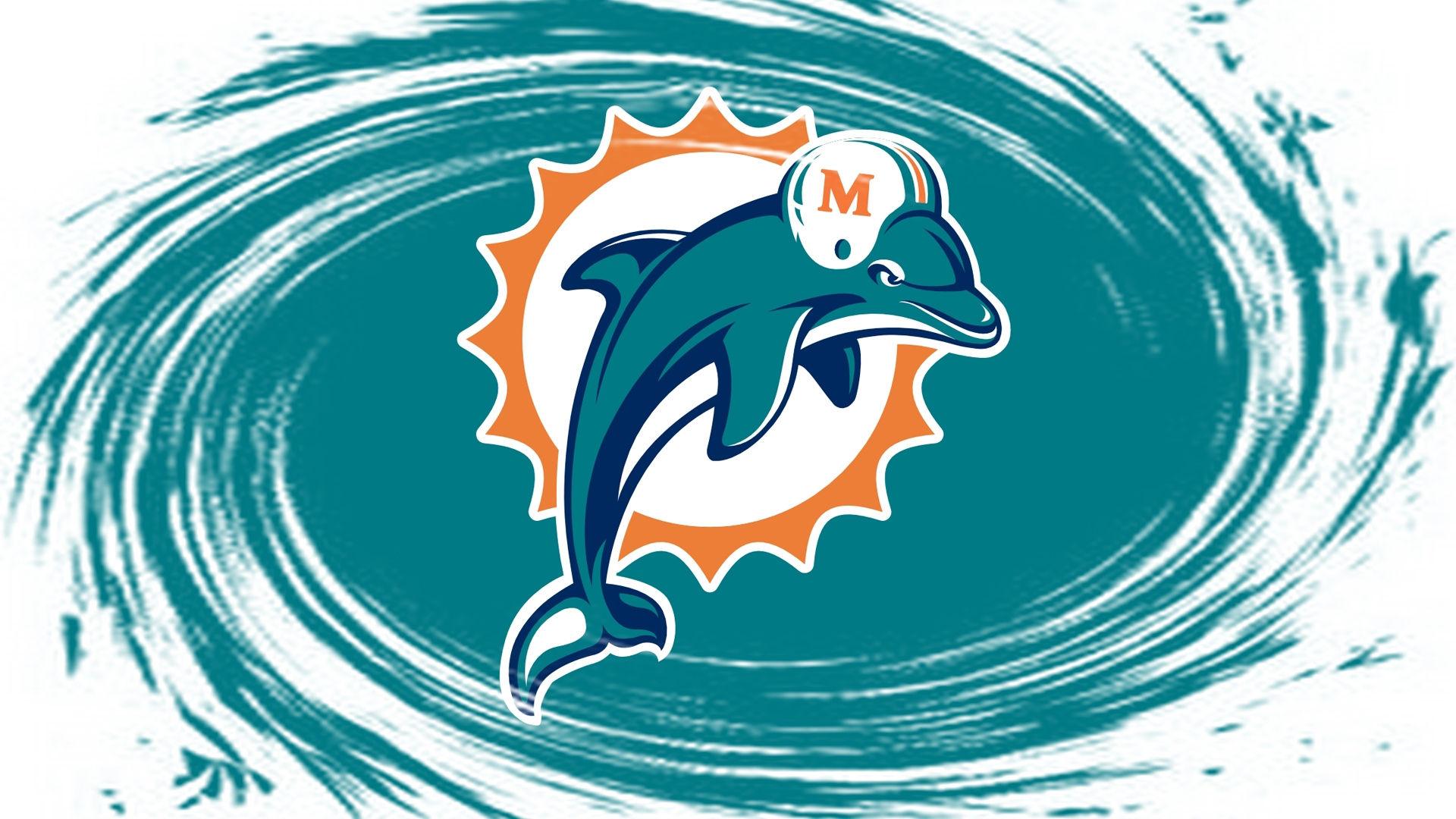 NFL Miami Dolphins Logo Whirlpool 1920x1080 HD NFL Miami Dolphins 1920x1080