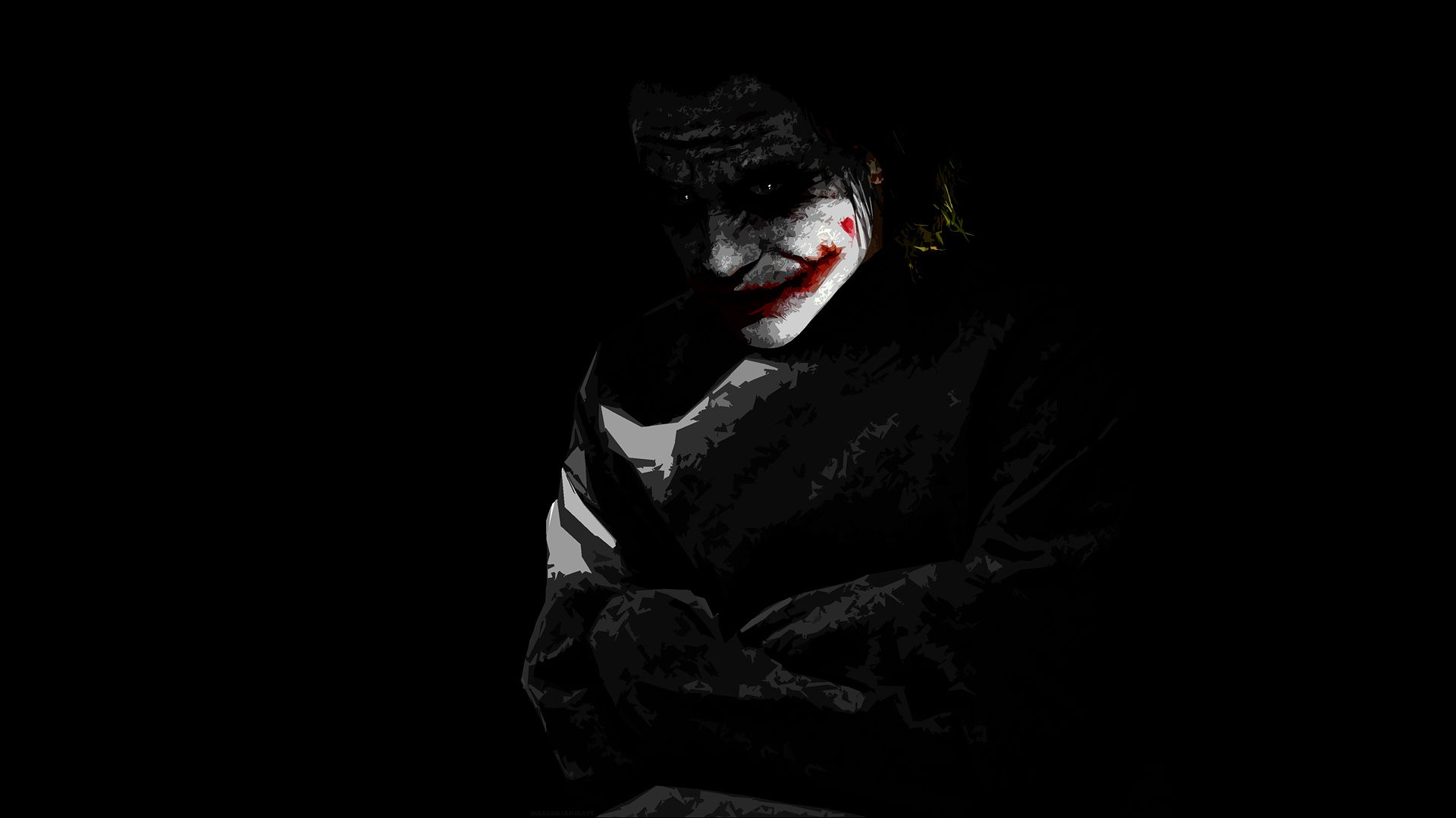 Dark Knight Joker Desktop Wallpaper Flip Wallpapers Download 1920x1080