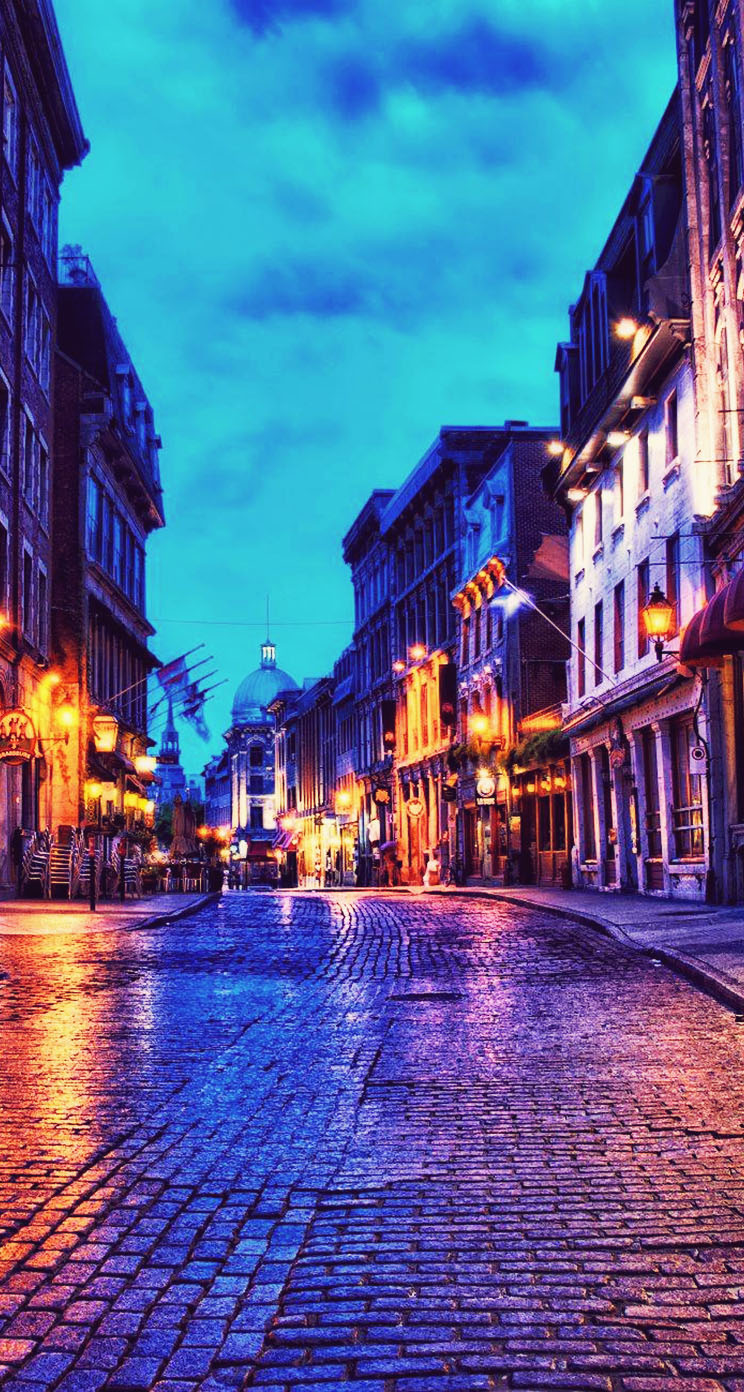 Beautiful Old Montreal The iPhone Wallpapers 744x1392