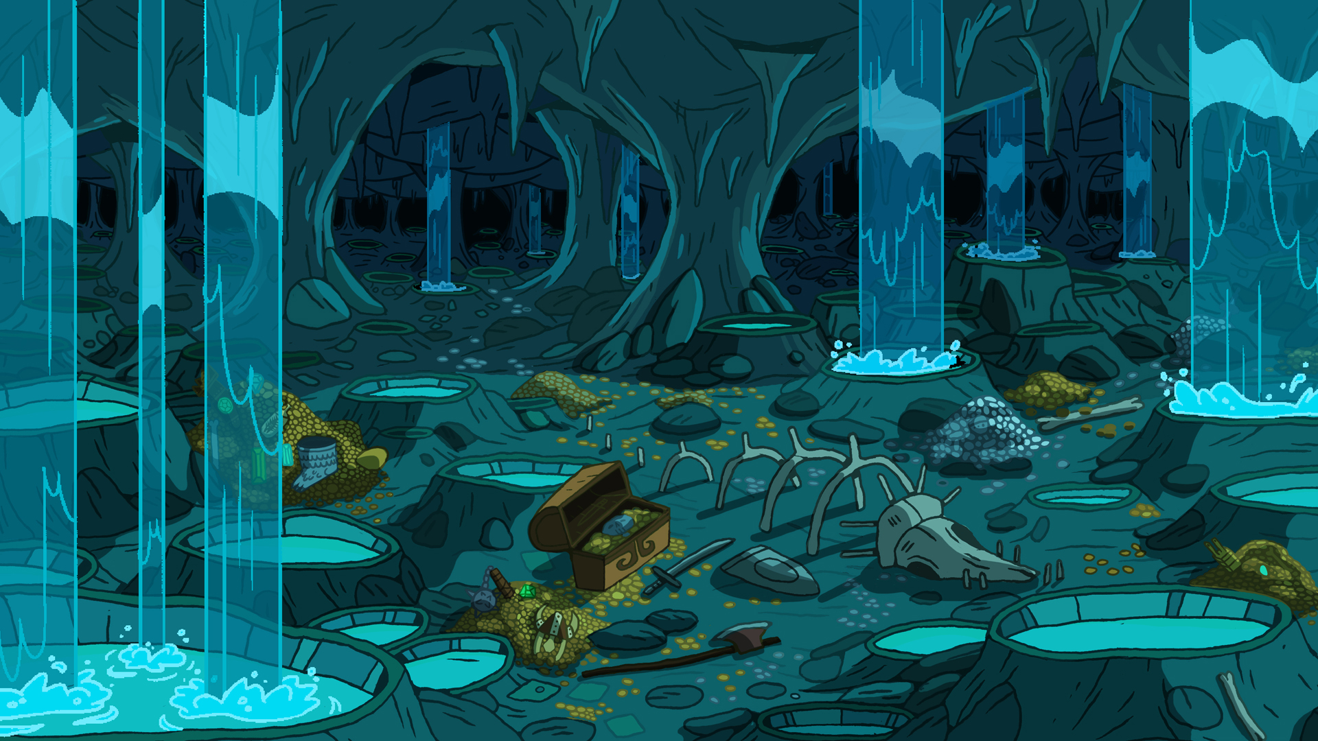 Adventure Time Treasury 1920x1080