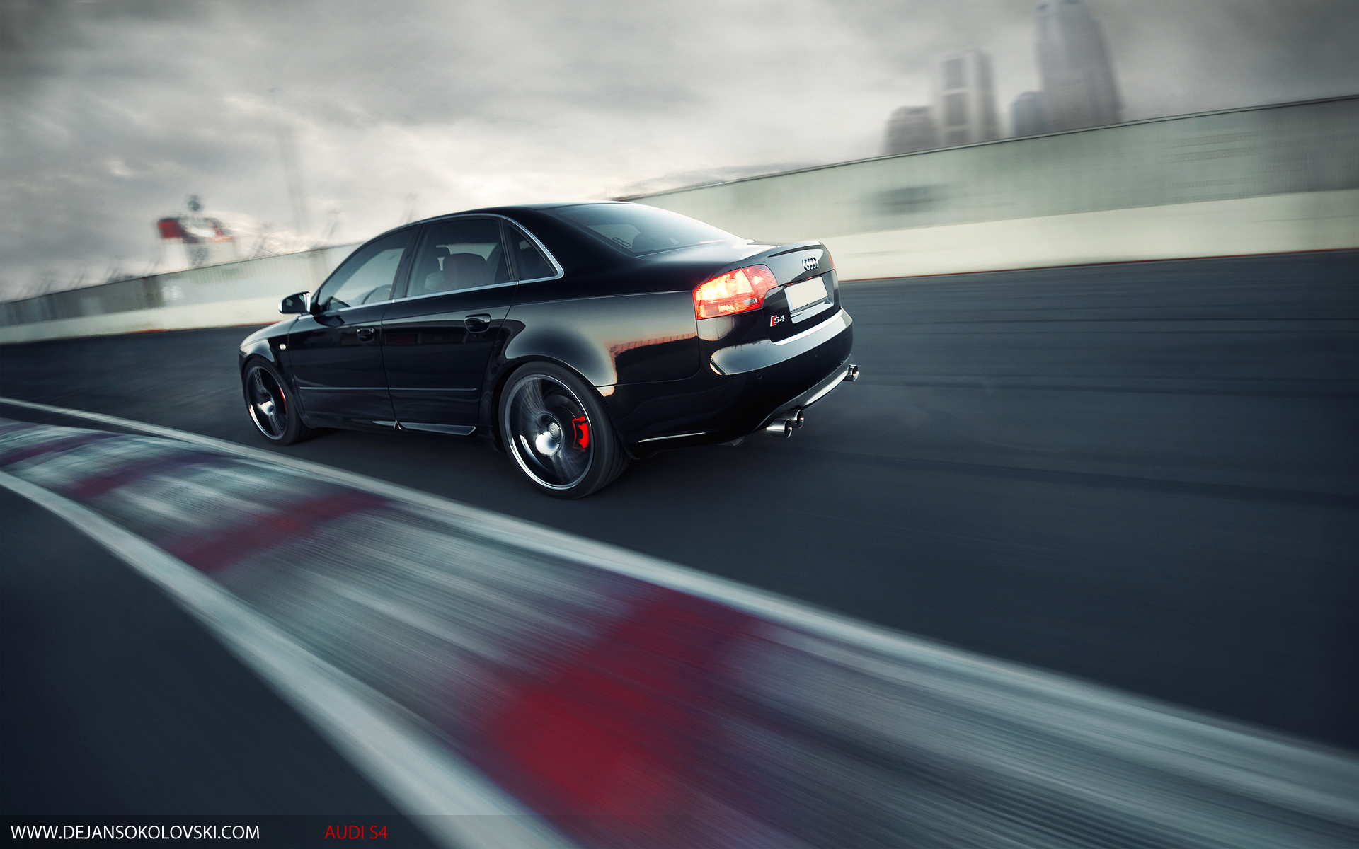 cars audi backview german s4 rs4 HD Wallpaper 1920x1200