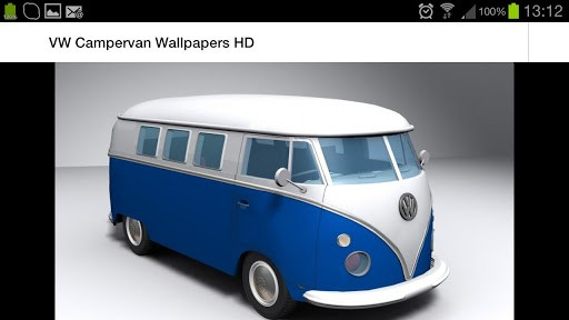 View bigger   VW Campervan Wallpapers HD for Android screenshot 512x288
