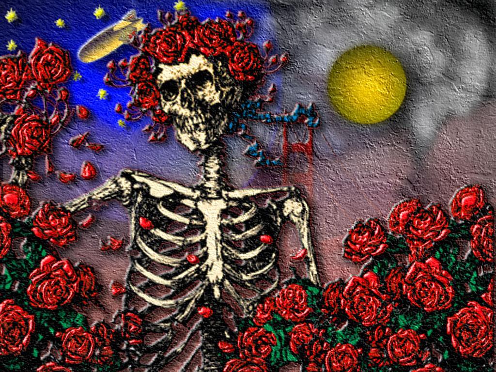 Grateful Dead Dancing Skeletons Wallpaper Images Pictures   Becuo 1024x768