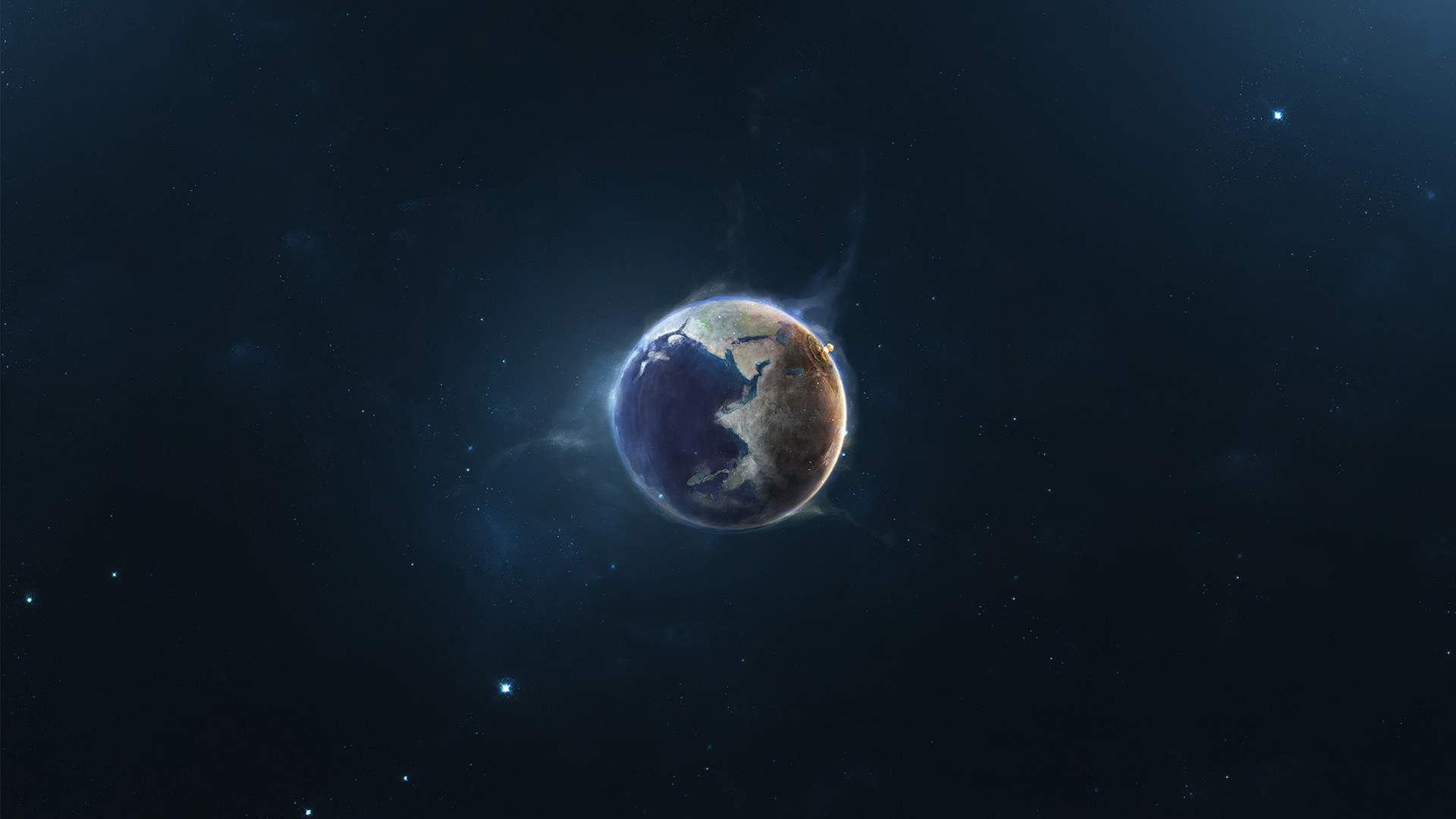 Earth Wallpaper HD 1080p - WallpaperSafari