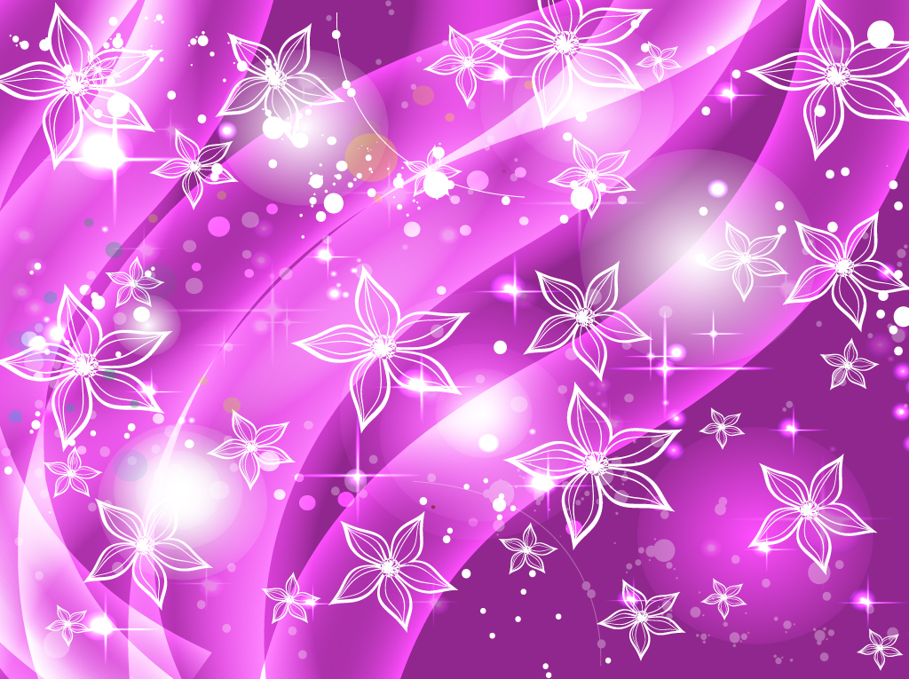 [59+] Pink And Purple Flower Backgrounds on WallpaperSafari