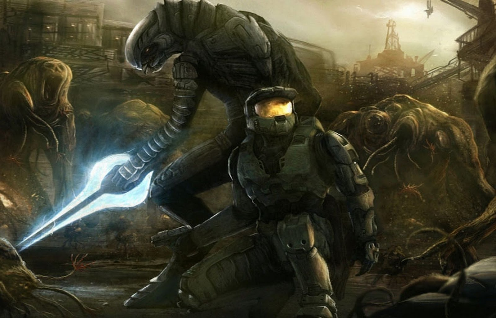 HALO WALLPAPERS 1600x1028
