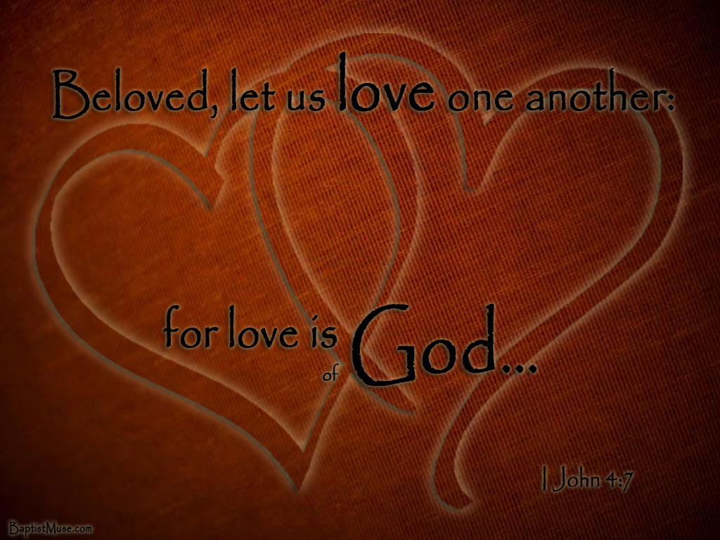 Love God Background Love is of god 1024x768