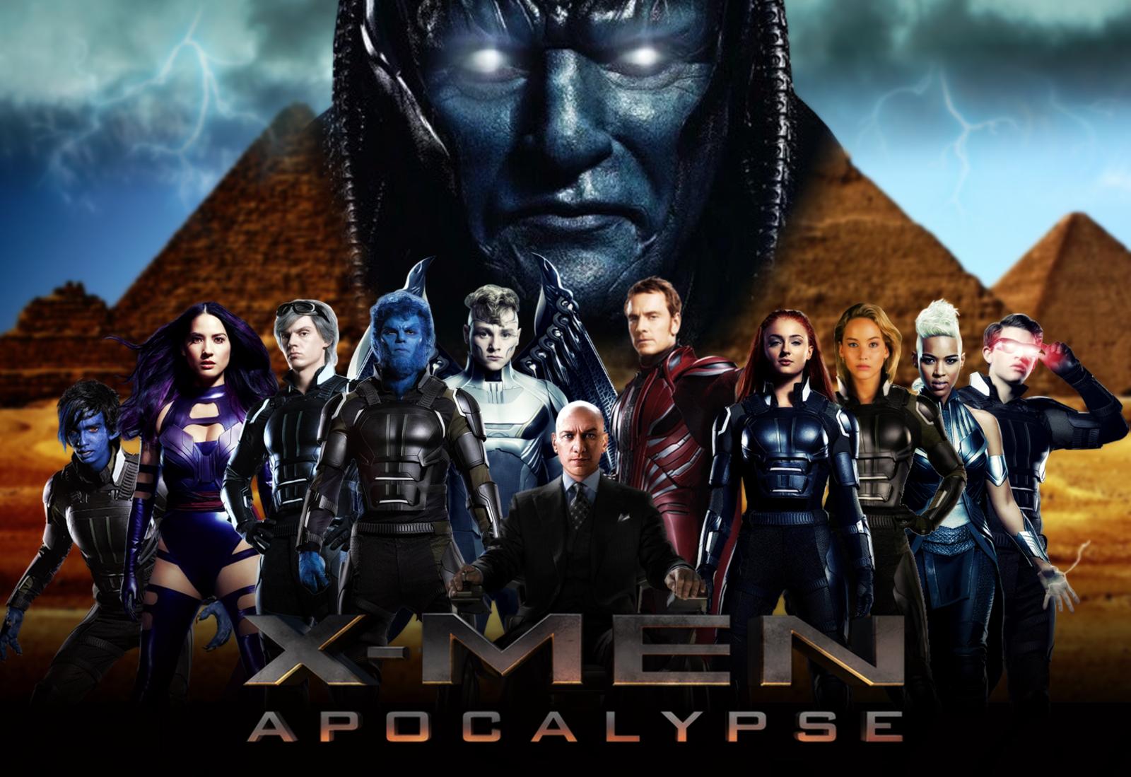 download X men Apocalypse wallpaper by ArkhamNatic [1600x1099 1600x1099
