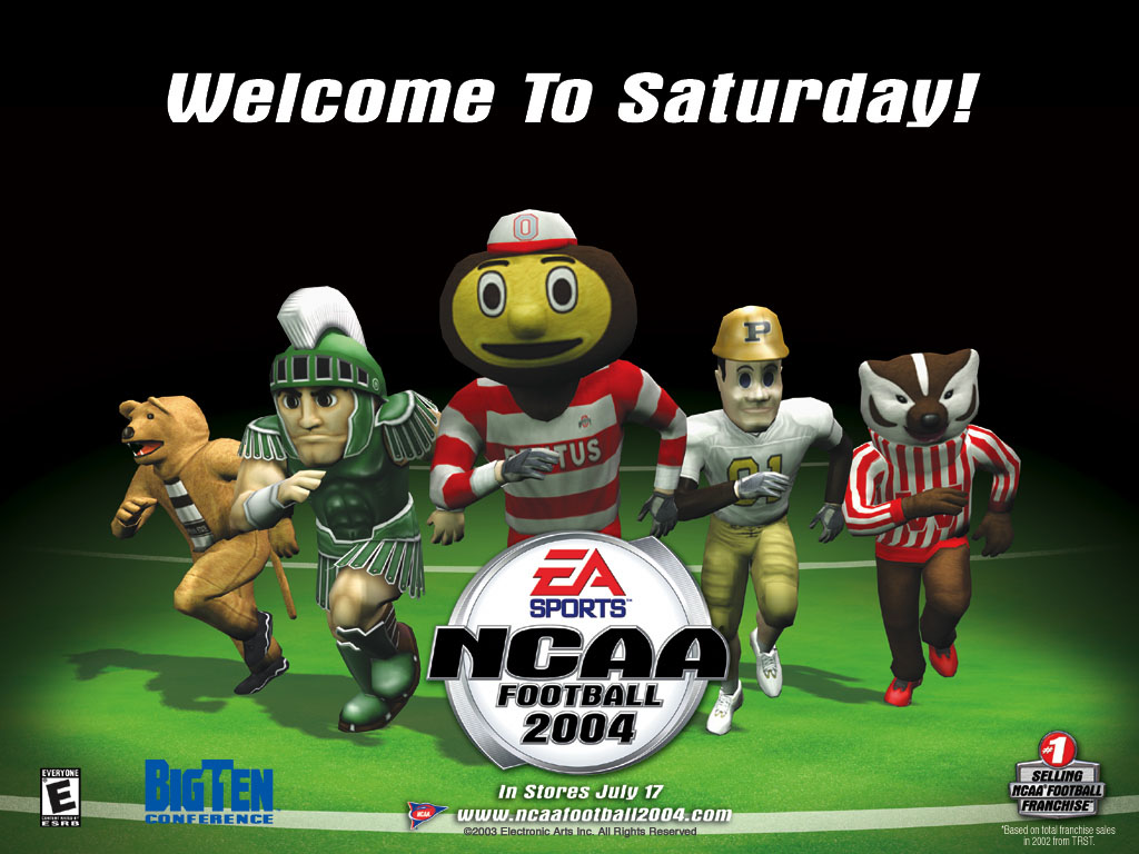Free Download Ncaa Football 2004 1024x768 For Your Desktop Mobile Tablet Explore 49 Ncaa College Football Wallpaper College Wallpaper Borders College Football Screensavers Wallpaper College Football Wallpaper Border