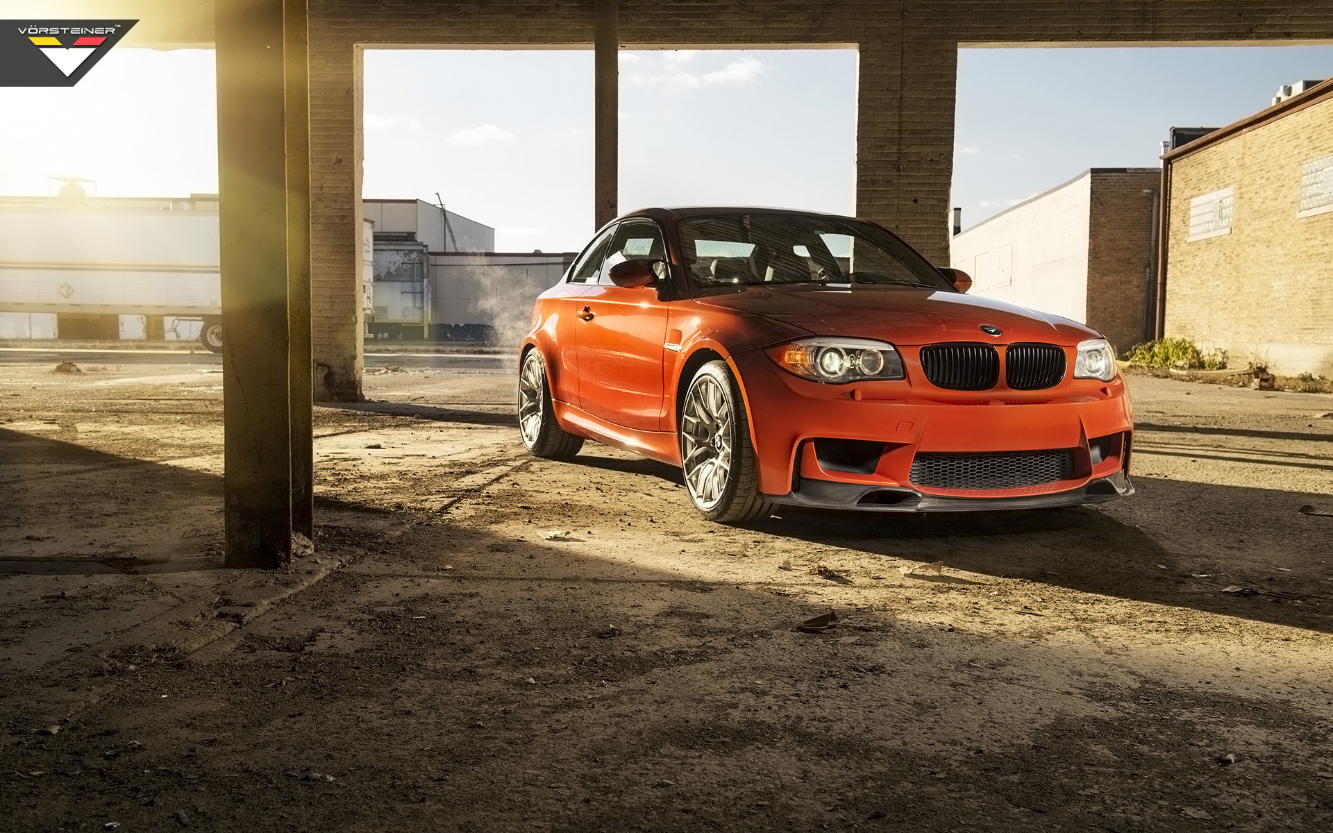 Vorsteiner BMW E82 1M Coupe 2014Related Car Wallpapers wallpaper 1920x1200