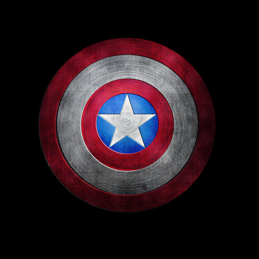 Captain America shield by froskeIlone 900x900