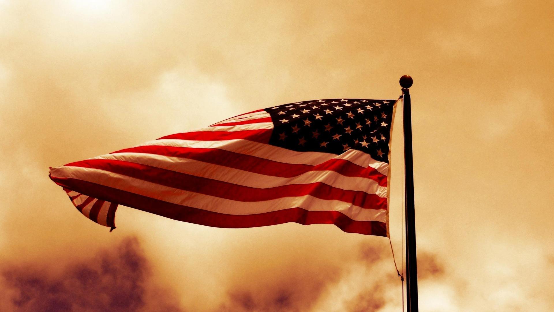 USA American Flag HD Wallpaper of Flag   hdwallpaper2013com 1920x1080