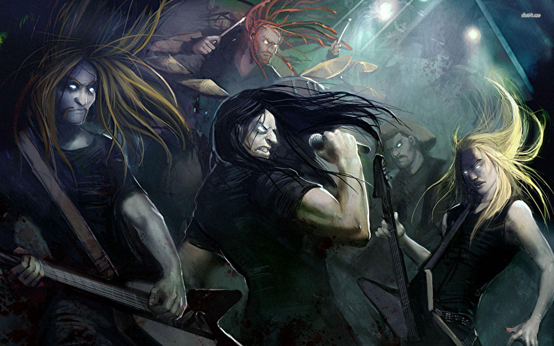 Related Keywords amp Suggestions for metalocalypse wallpaper 1920x1200