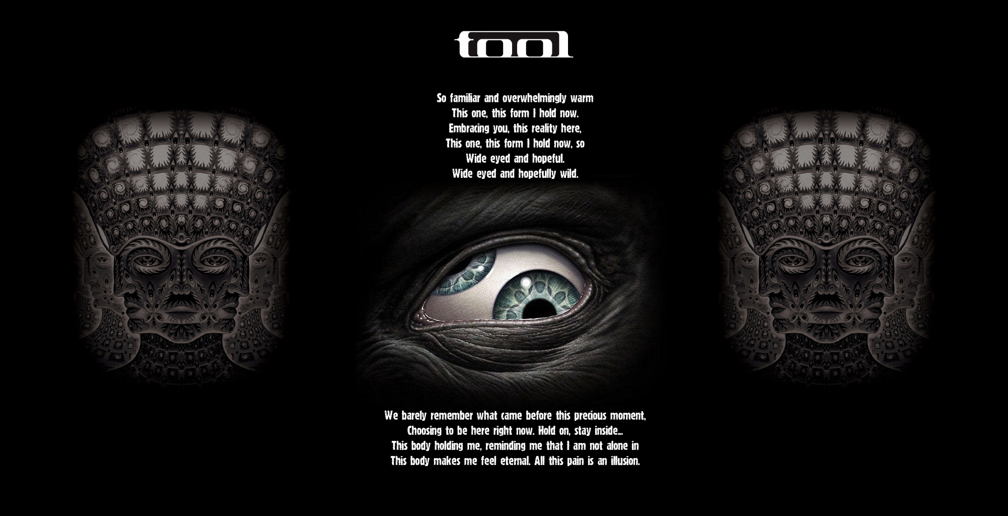 Tool Wallpaper 2 Redux PSD By Sk8rDude7 2000x1024
