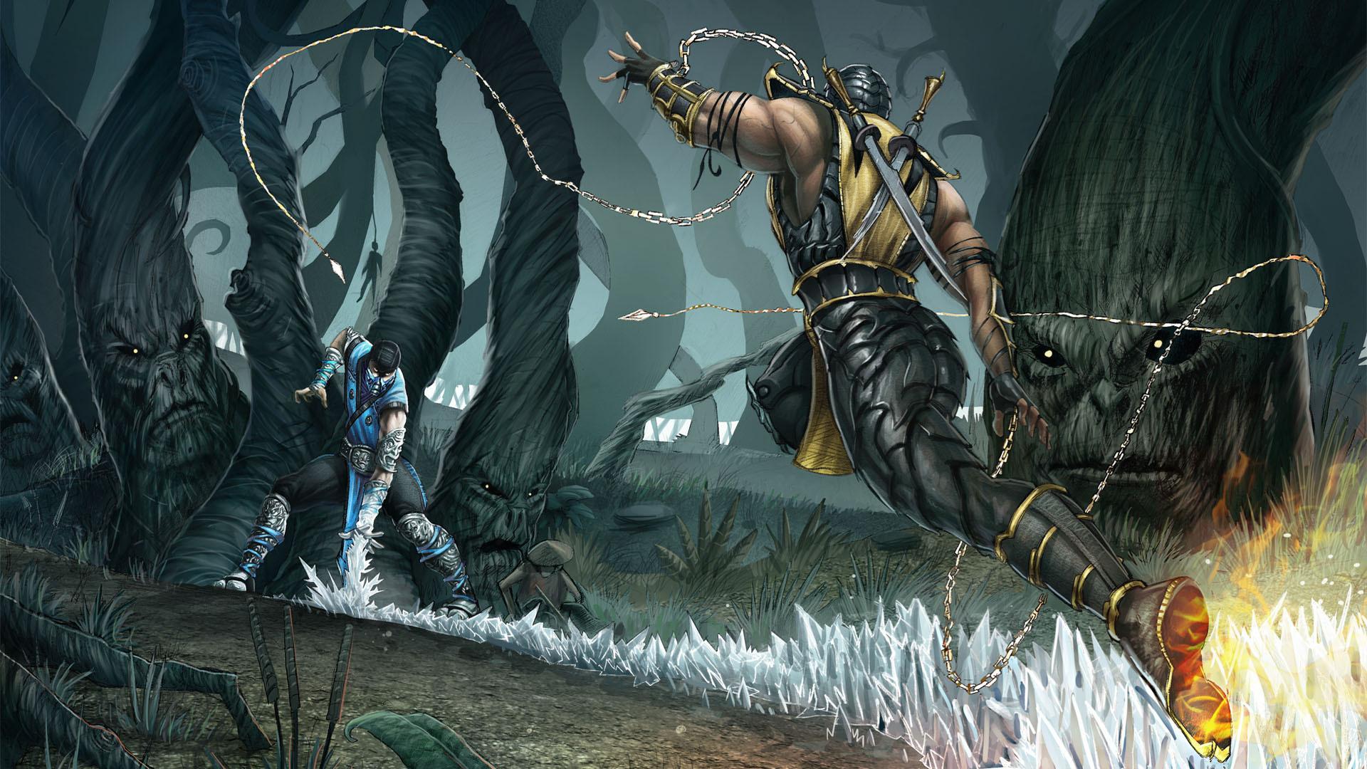 Mortal Kombat   Mortal Kombat Wallpaper 23289786 1920x1080