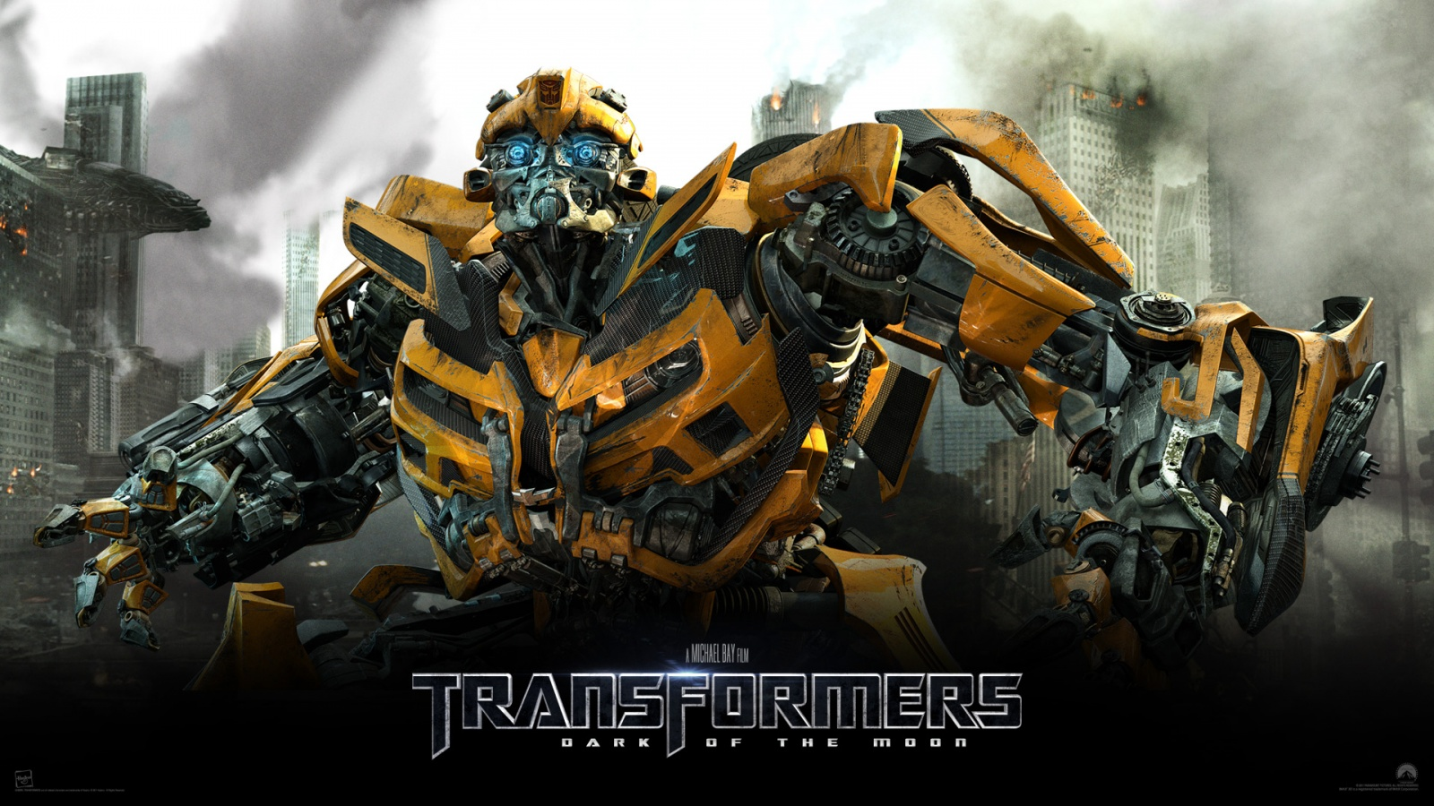 Bumblebee Transformers Dark of The Moon Wallpapers HD Wallpapers 1600x900