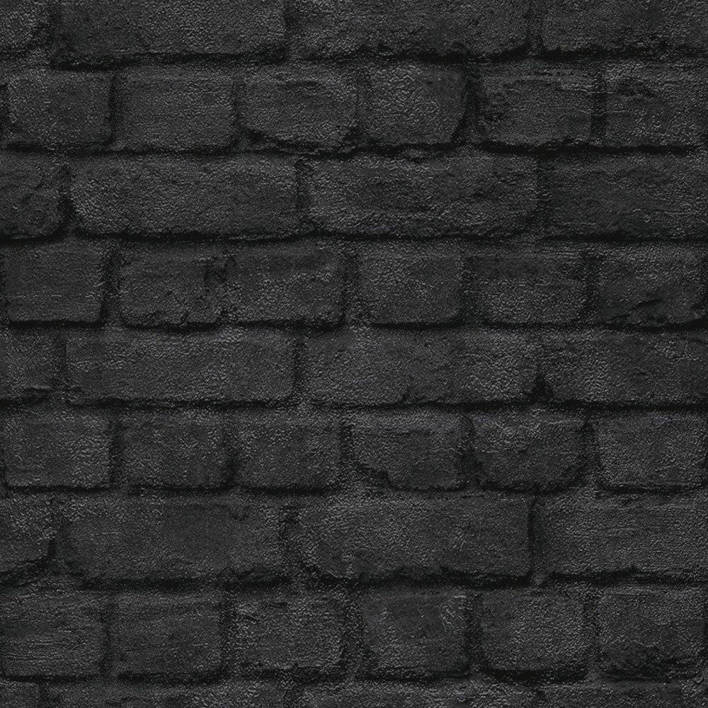 Black Brick Wallpaper Wallpapersafari