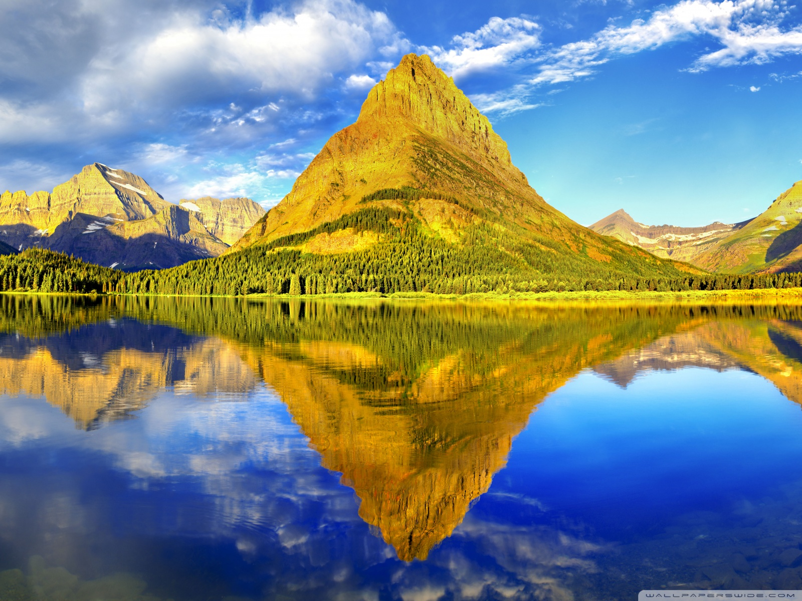 Glacier National Park Panorama Wallpaper 16001200 Wallpaper 1600x1200