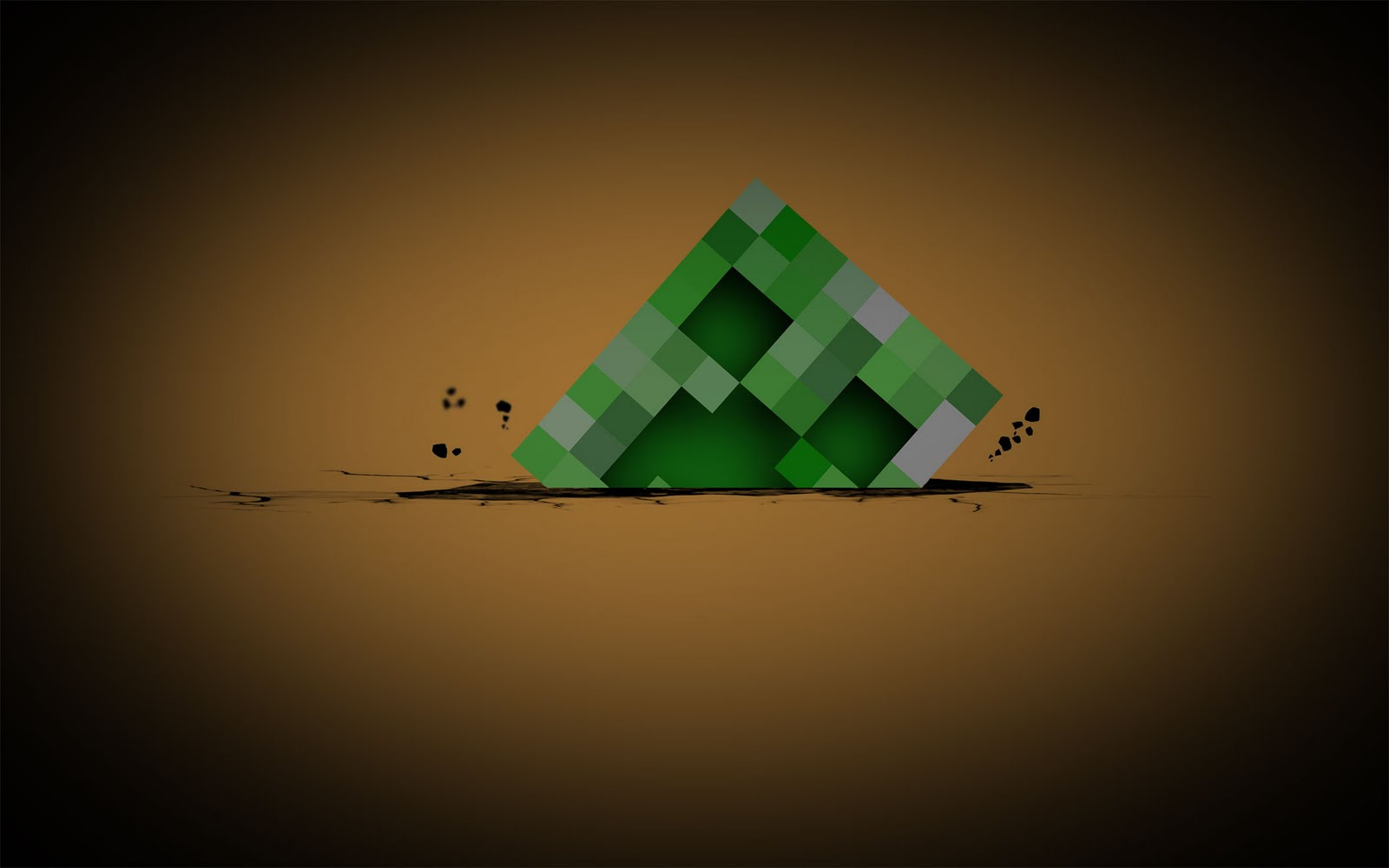 Minecraft Creeper Wallpaper WaLLDesK 1600x1000