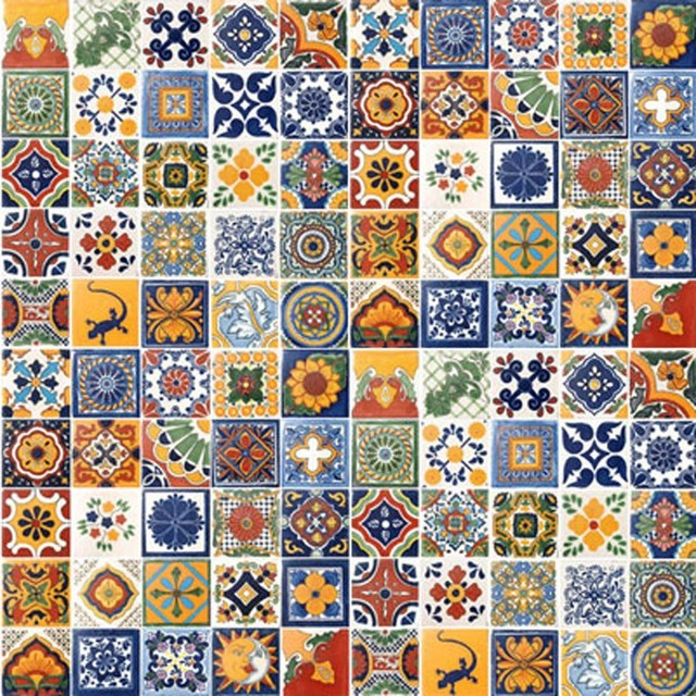 Mexican Tiles   Mediterranean   Tile   by Casa Daya Tile and Sink Co 640x640