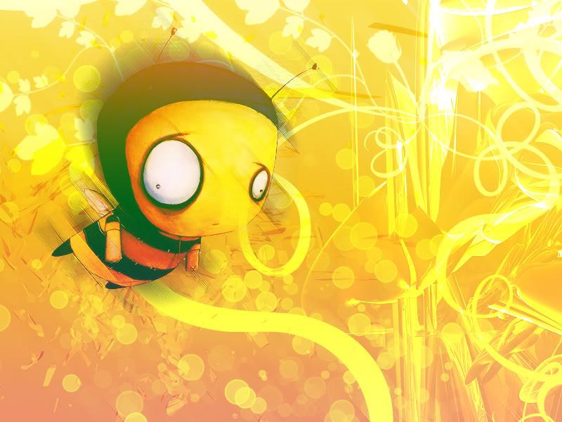 Bee Wallpaper 800x600