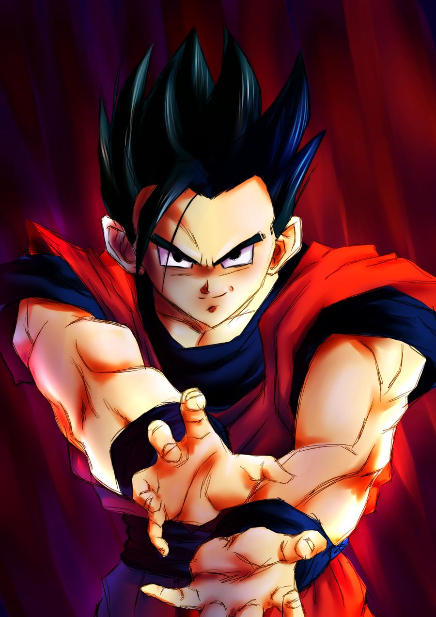 ultimate gohan   Dragon Ball Z Fan Art 22595774 900x1273