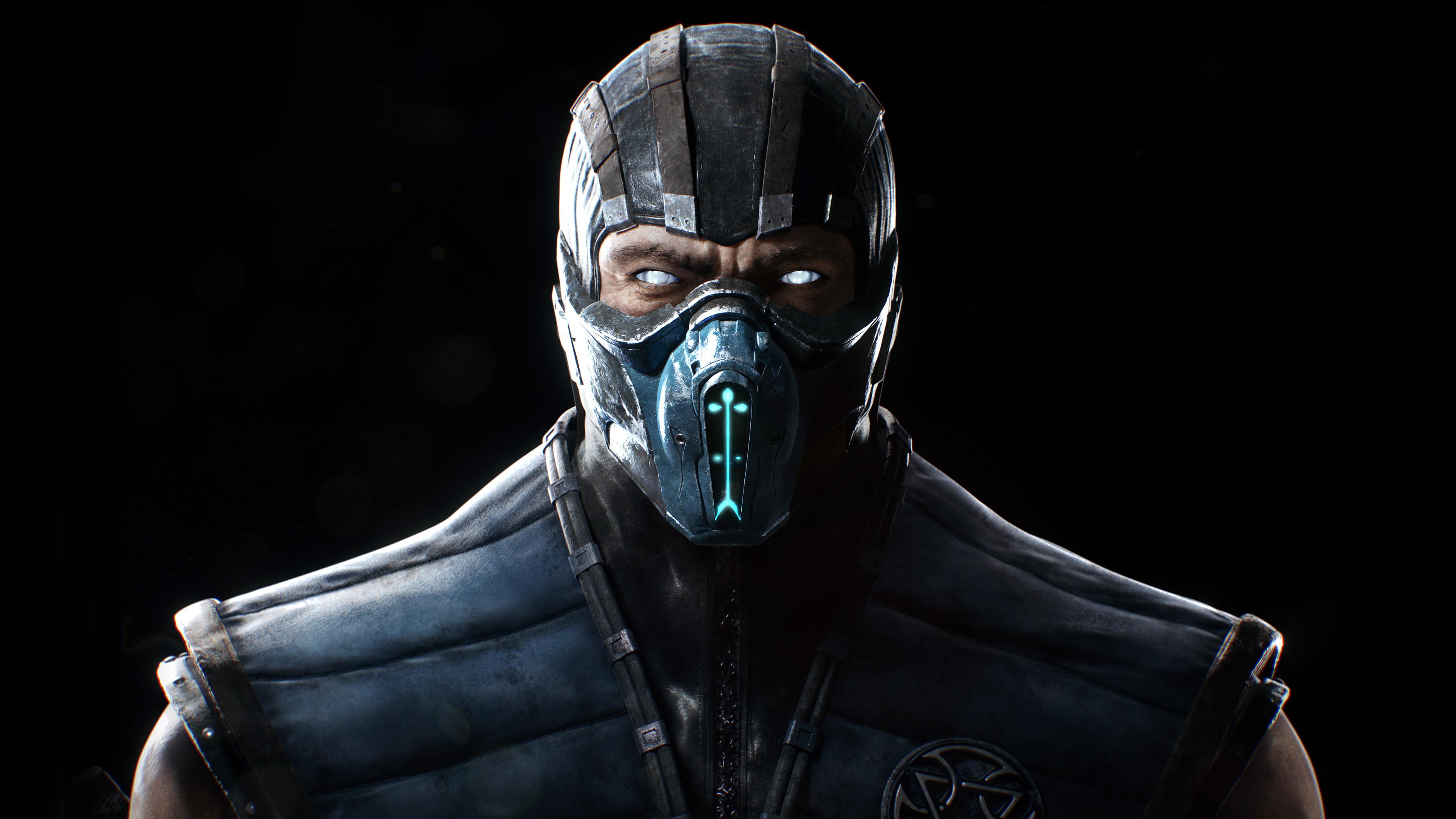 Mortal Kombat X Sub Zero Wallpapers HD Wallpapers 3840x2160
