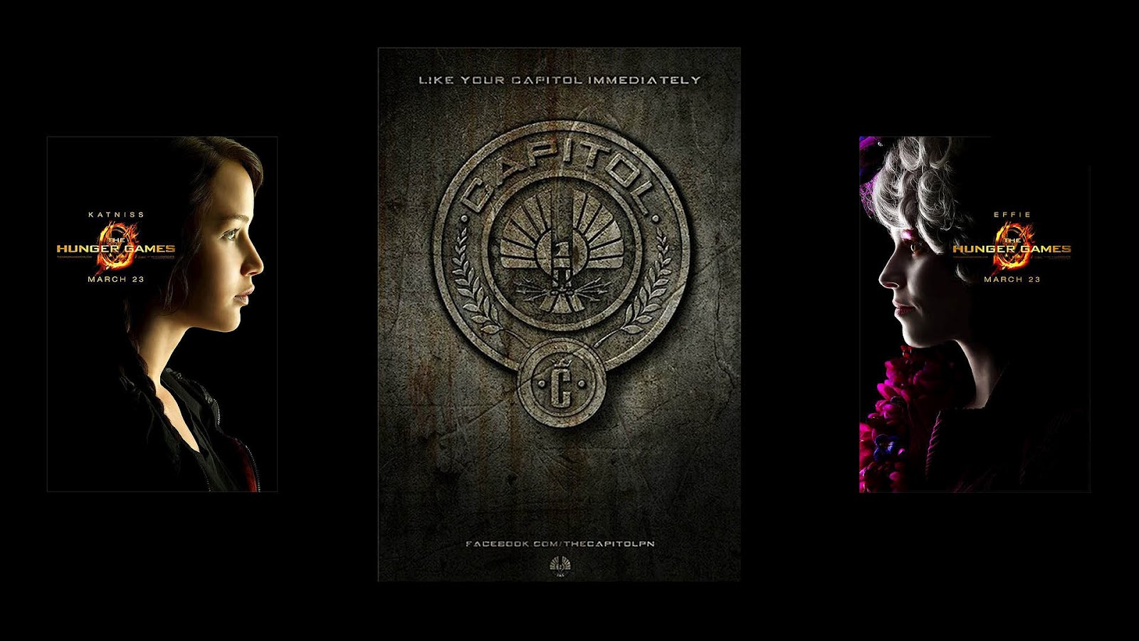 The Hunger Games Wallpaper   Natural vs Makeup MoovieWatch 1600x900