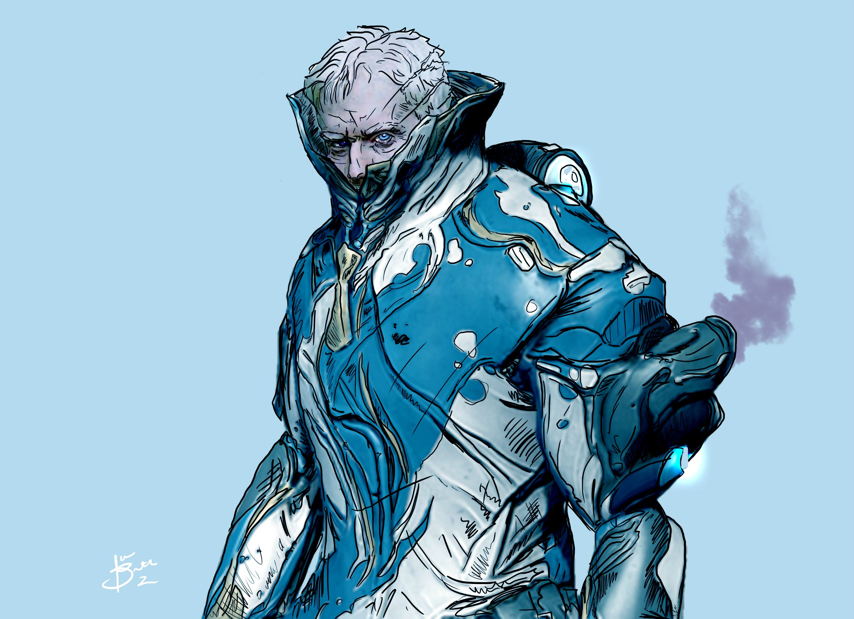 Warframe Frost Wallpap...