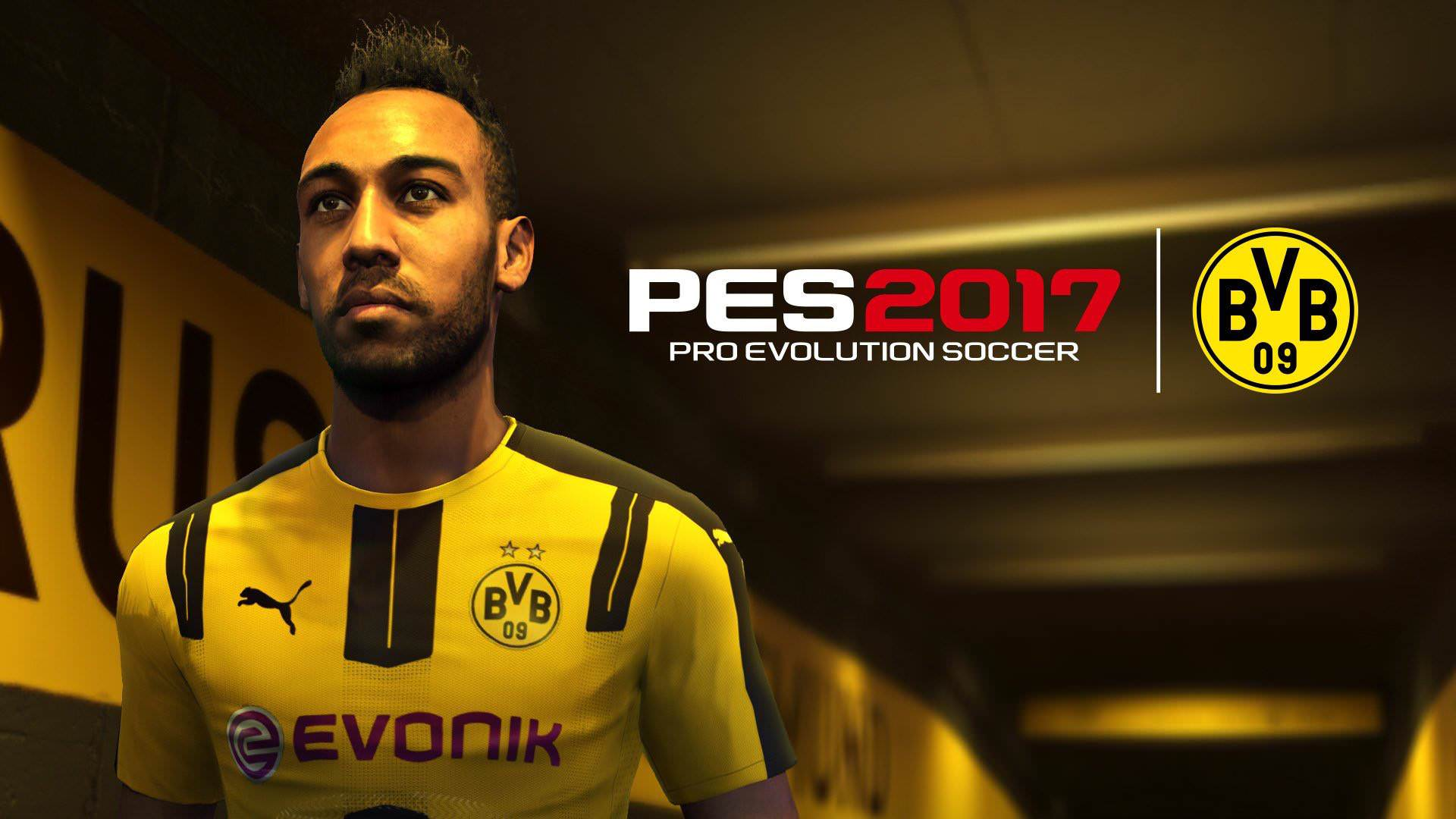 Free download PES 2017 Borussia Dortmund Partnership with Konami