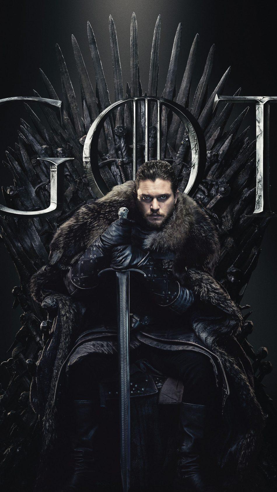 Download Jon Snow Game of Thrones Season 8 Pure 4K Ultra HD 950x1689