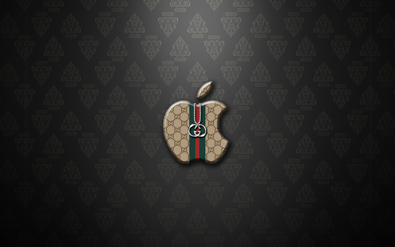 Apple Logo Wallpaper   Gucci LaggDogg Wallpapers 1280x800