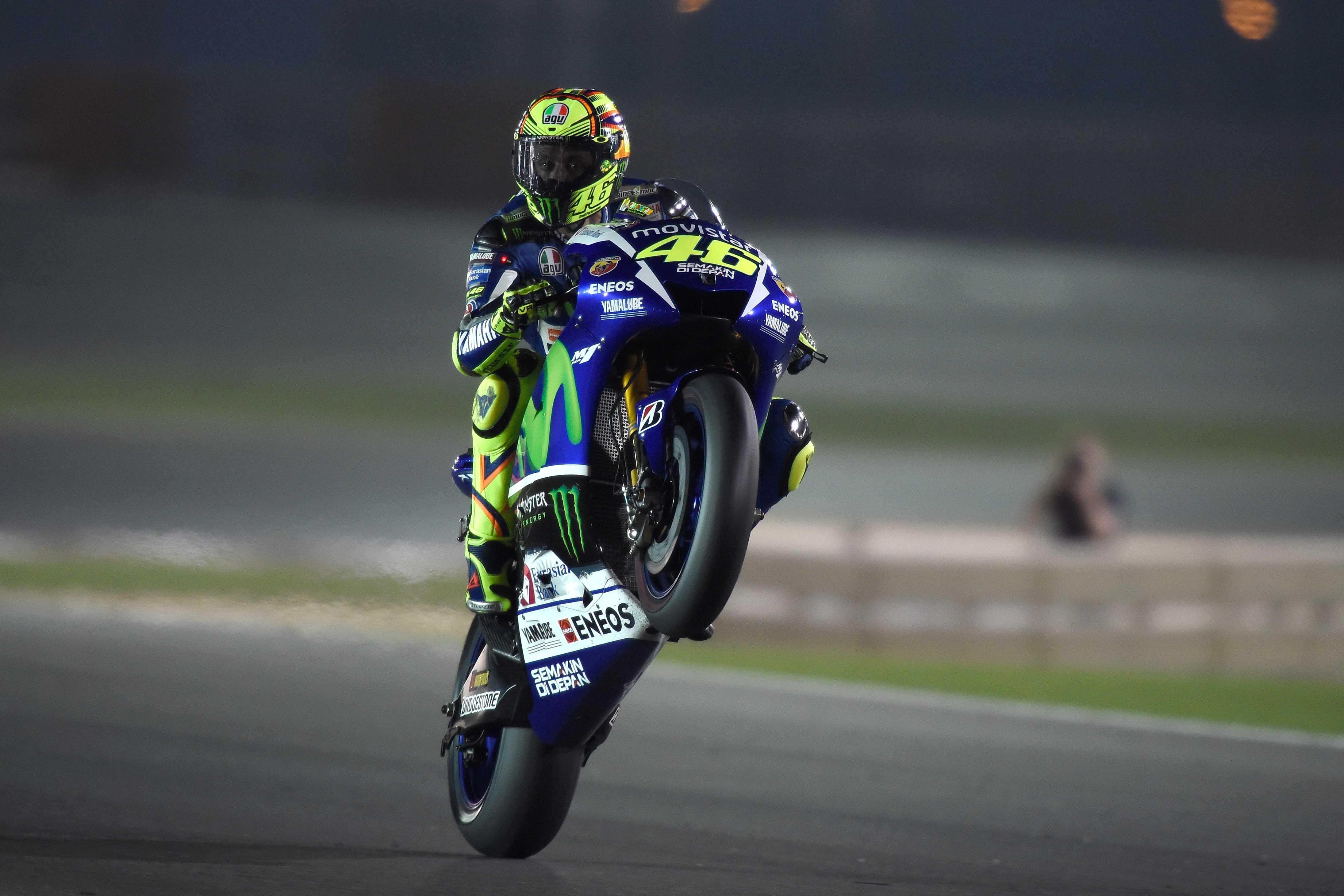 Valentino Rossi Wallpaper Jump MotoGP 4382x2921
