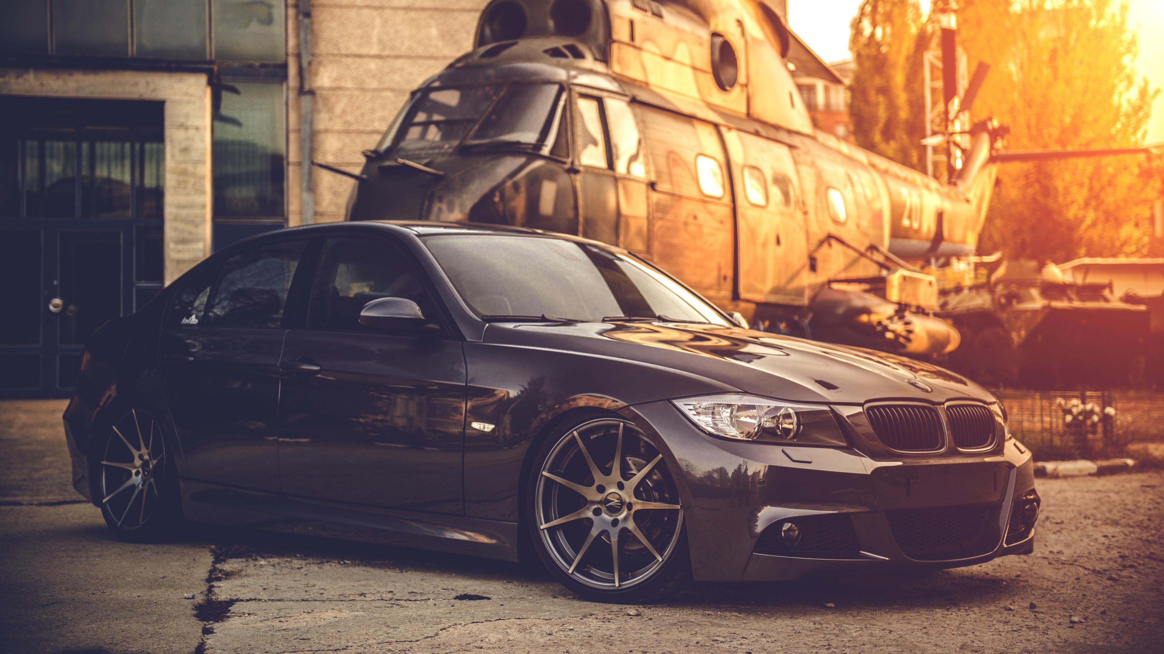 BMW Car Black 4K ULTRA HD Wallpaper I HD Images 3840x2160