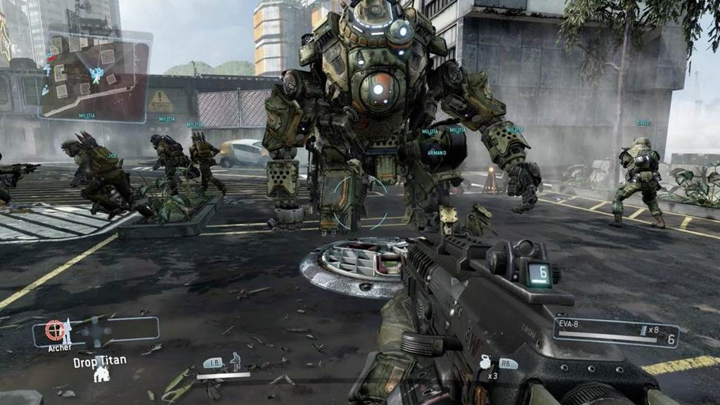 Titanfall Gaming Wallpapers   First Person Shooter Misc Photography 1024x576