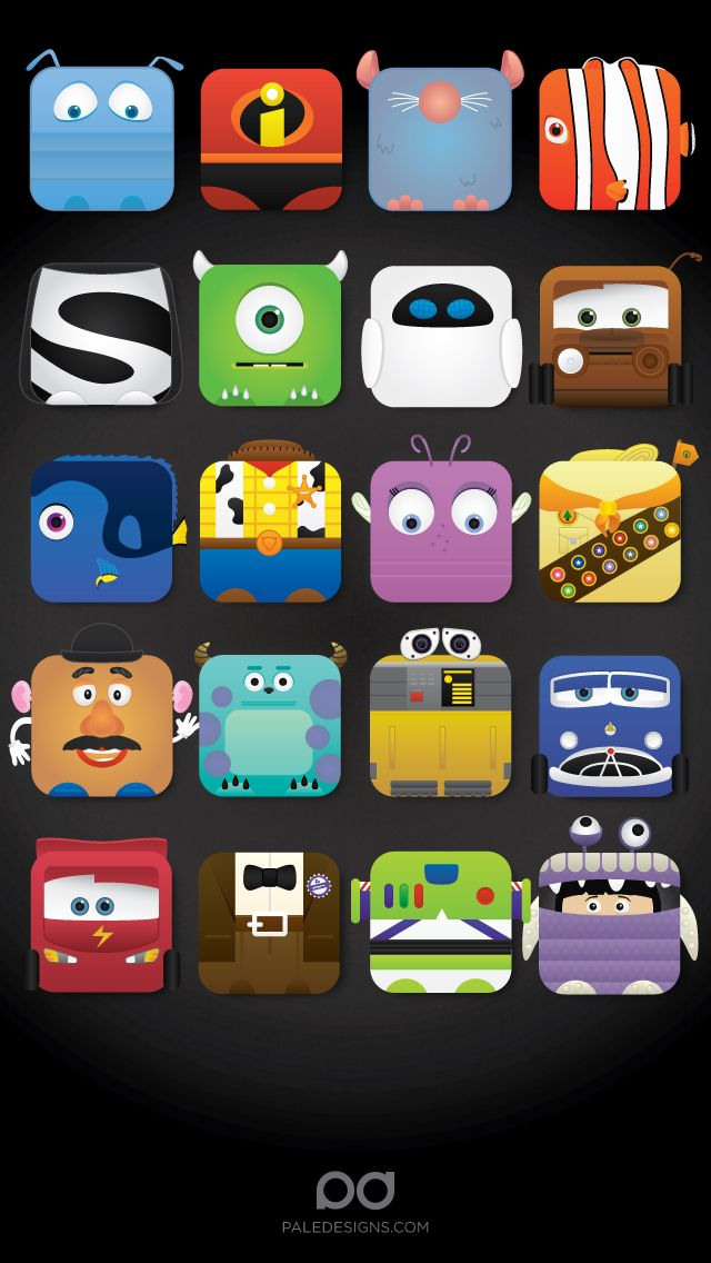 Disney iPhone 5 app skins wallpaper Cool Wallpapers and Backgrounds 640x1136